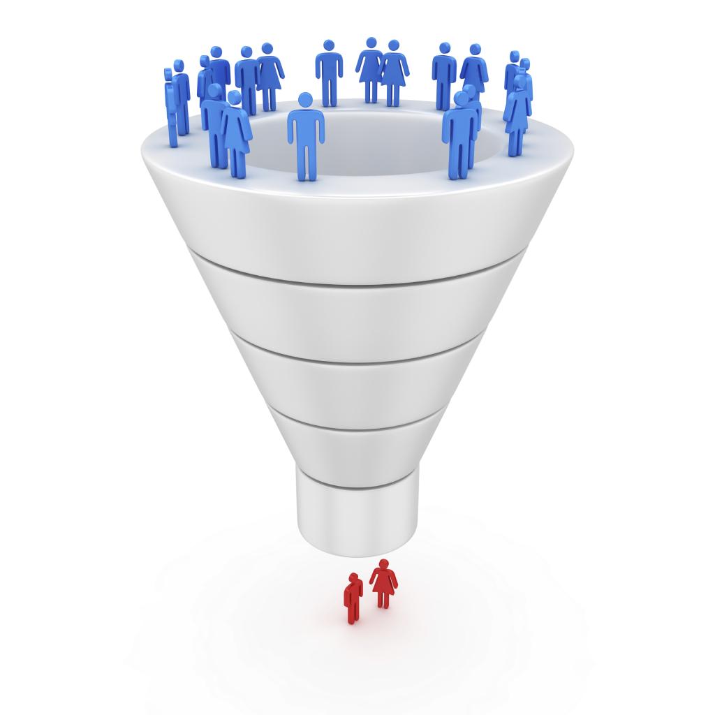 sales funnel people